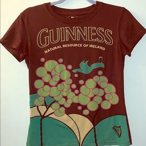 Authentic Guinness Graphic T-shirt